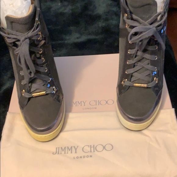 Jimmy Choo Shoes Wedge Tennis Poshmark